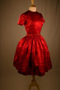 Patricia O'Connor - Red Roses Dress (1950s)