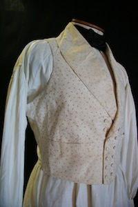 Jane Tolberts - Dress Shirt, Vest and Tie (early 1800s)