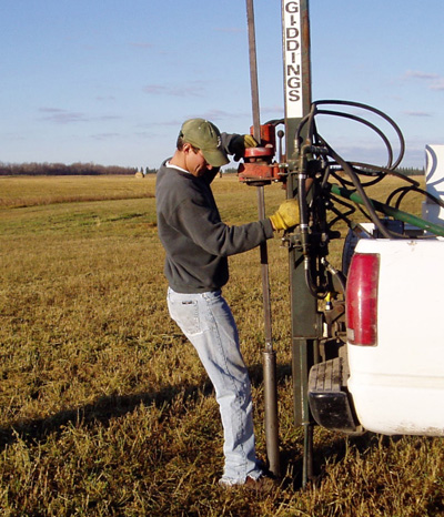 How to send a sample soil science ndsu for Soil sampling