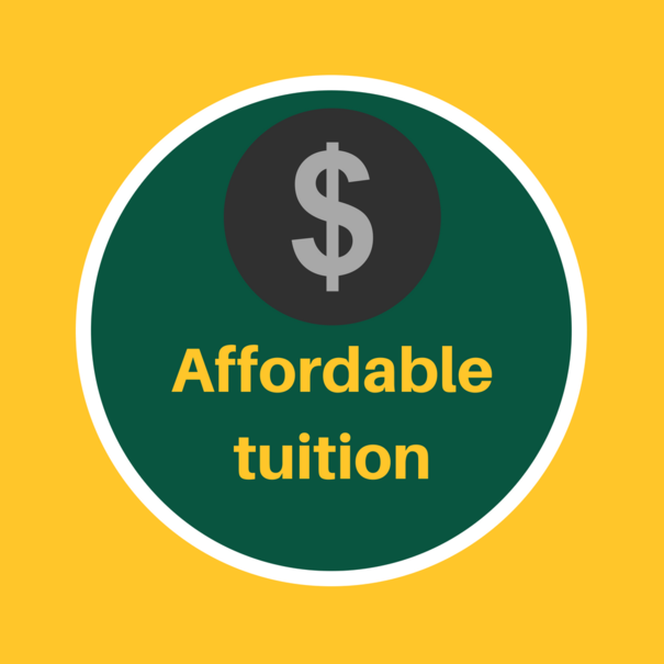 Affordable Tuition