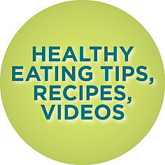 Healthy Eating, Tips, Recipes, and Videos link