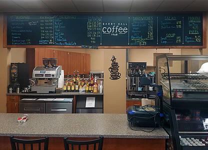 small coffee shop menu
