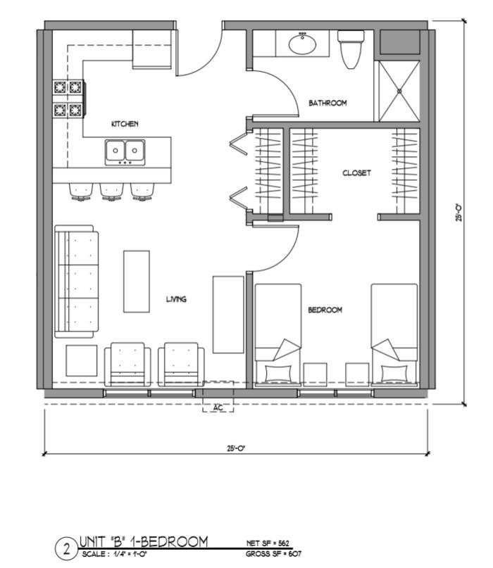 Csm 2018 Floor Plan Apartment 1701 Residence Life Ndsu