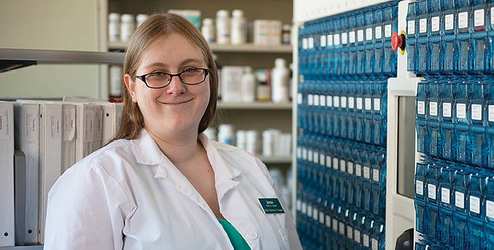 Pharmacy Student Finds Supportive Environment To Pursue Career Goal