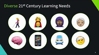 Diverse 21st Century Learning Needs