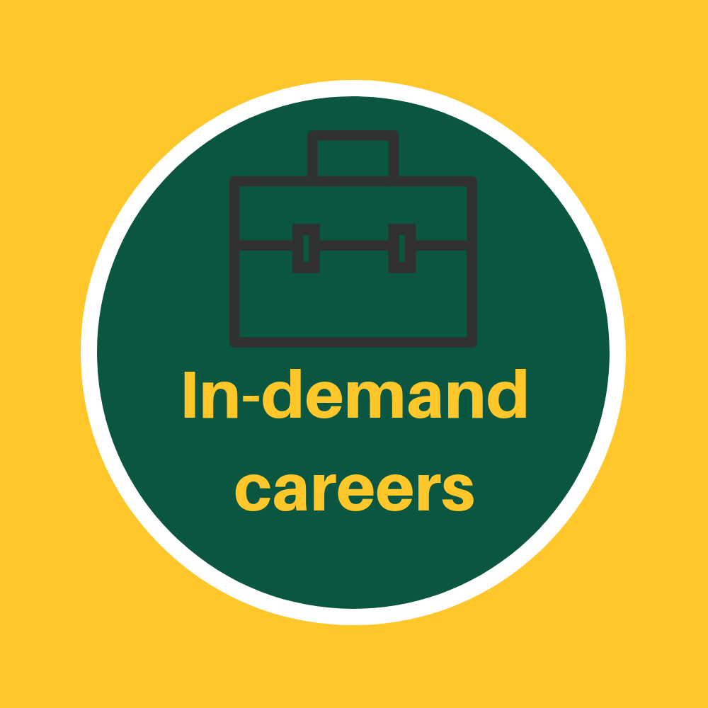 In demand careers