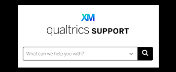 Qualtrics help page screen