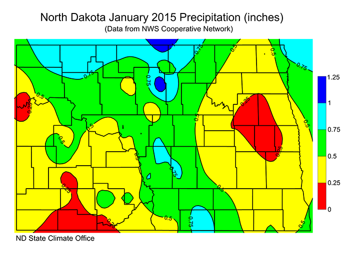 North Dakota State Climate Office NDSU - North dakota state map