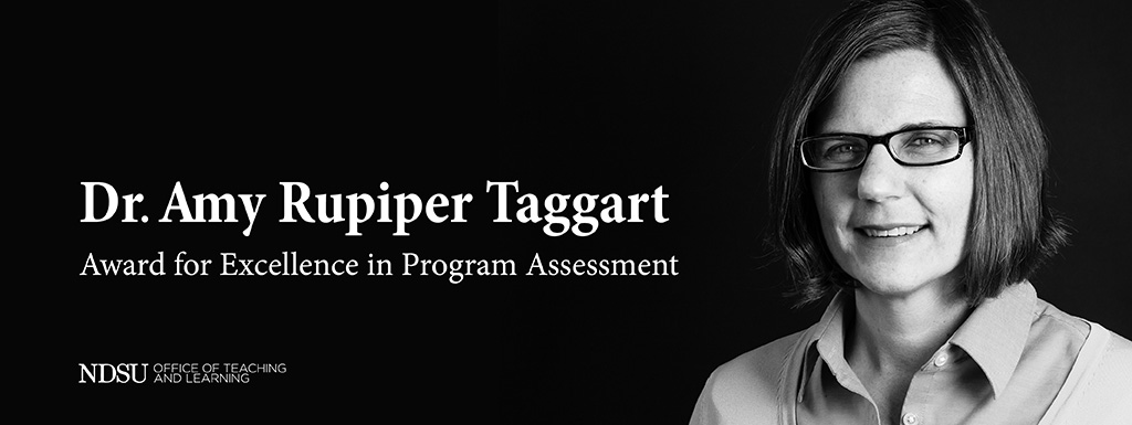Amy Rupiper Taggart Award for Program Assessment
