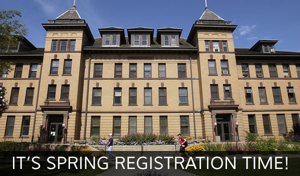 It's Spring Registration Time!