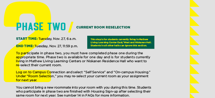 Phase Two Residence Life