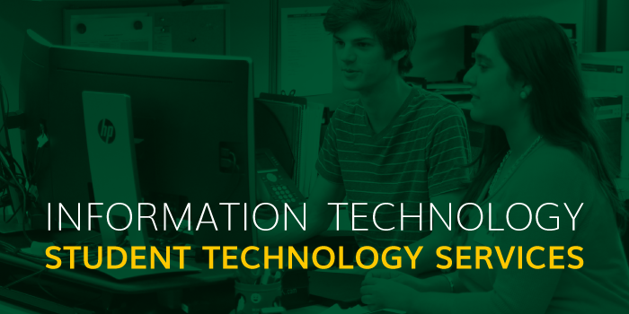 Information Technology Services : Student technology services information