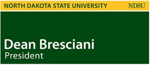 Name Badges University Relations NDSU