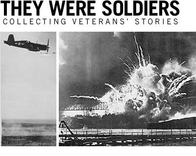 They were soldiers, Collecting veterans' stories