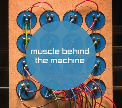 Muscle behind the machine