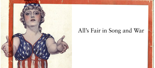 All's fair in song and war