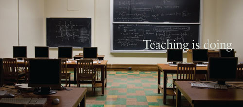 Teaching is doing