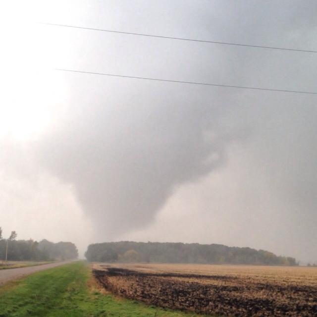Tornado Picture coutesy of Falyn Johnson, via WDAZ-TV