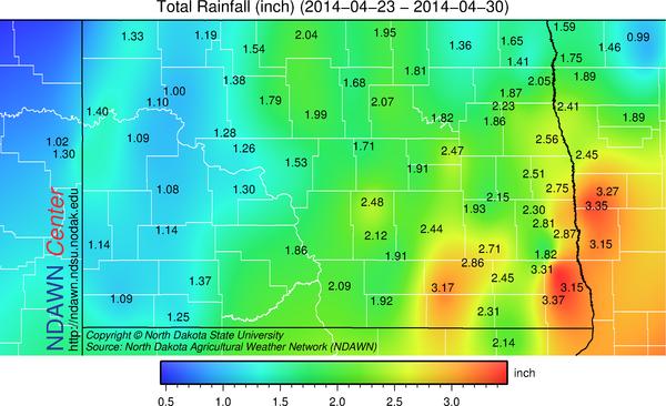 April 23-30, 2014 Record Rain