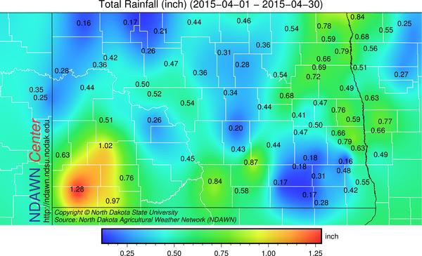 April 2015 Precipitation