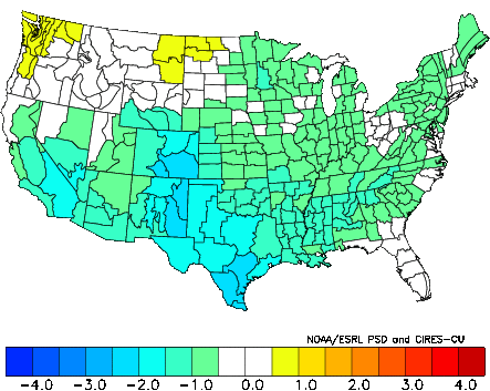 November Temperature Analog