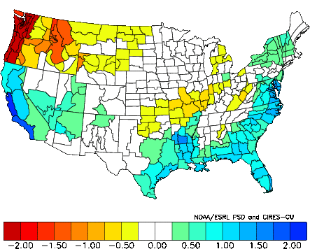 November Precipitation Analog