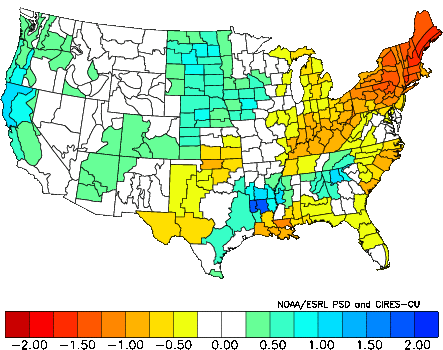 October Precipitation Analog