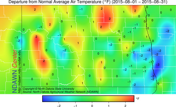 august temps