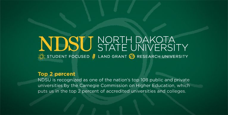 NDSU - in top 2 percent of accredited universities and colleges
