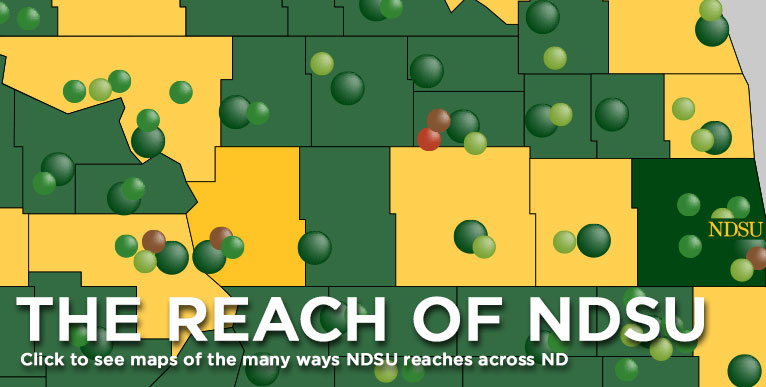 The Reach of NDSU