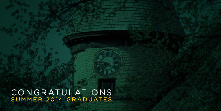 Area students receive degrees from NDSU, summer 2014