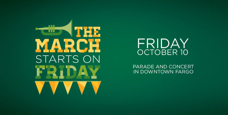NDSU Homecoming 2014, Schedule for Friday October 10
