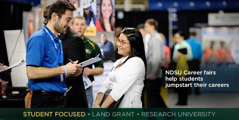NDSU Career fairs help students jumpstart their careers
