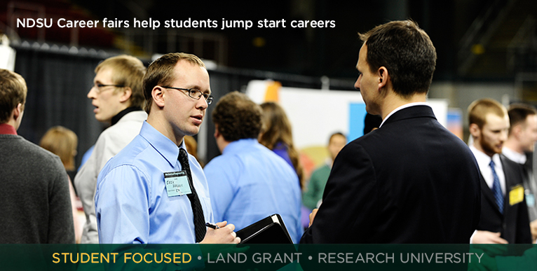 NDSU Career fairs help students jumpstart their careers