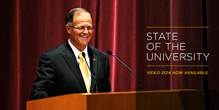 State of the University Address 2014 - video now available