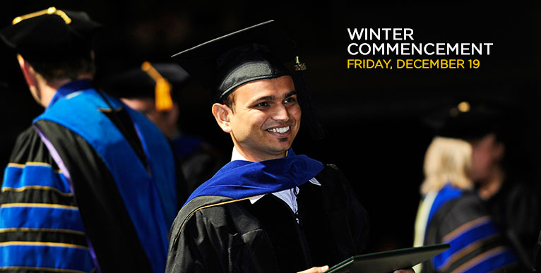 2014 Winter Commencement - click for more information