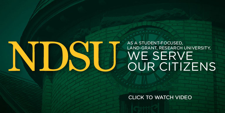 As a student-focused, land-grant, research university, we serve our citizens. Click to watch the video.