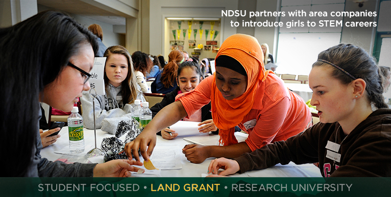 NDSU partners with area companies to introduce girls to STEM careers