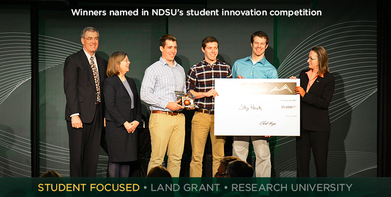 Winners named in NDSU�s student innovation competition