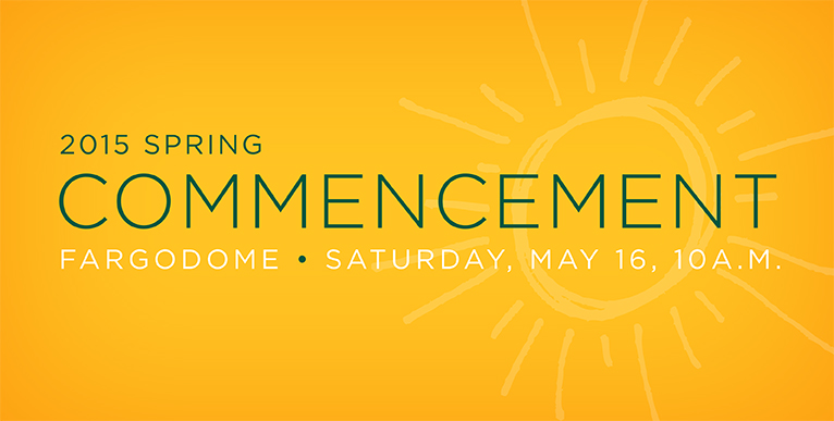 2015 Spring Commencement - click for more information