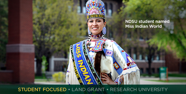 NDSU student named Miss Indian World