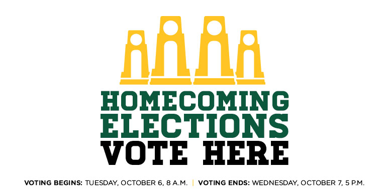 Homecoming King and Queen election 2015, vote here October 6-7
