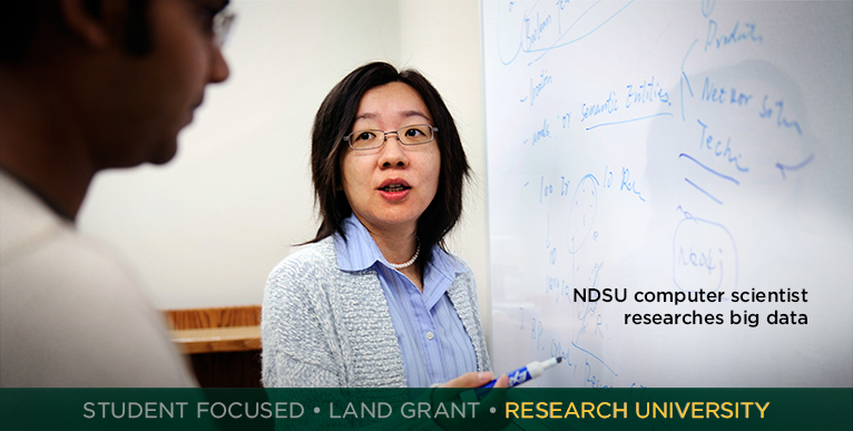 Assistant professor researches big data