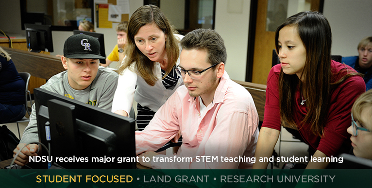 NDSU receives major grant to transform STEM teaching and student learning