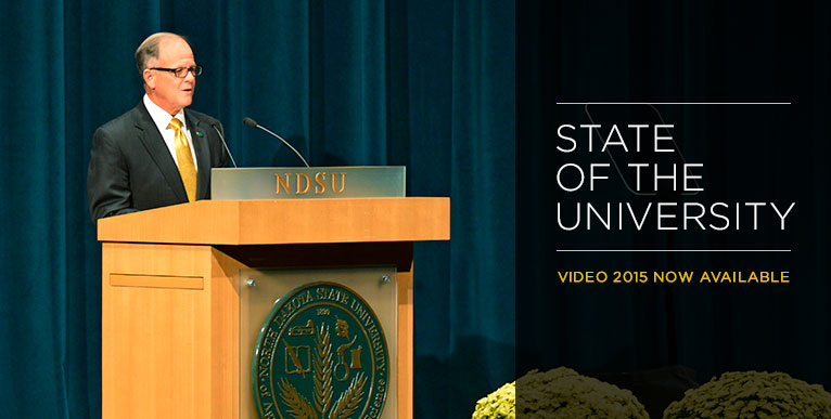 State of the University Address 2015 - video now available