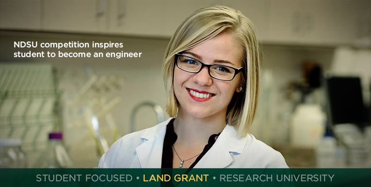 NDSU competition inspires student to became an engineer