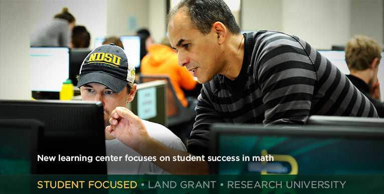New learning center focuses on student success in math