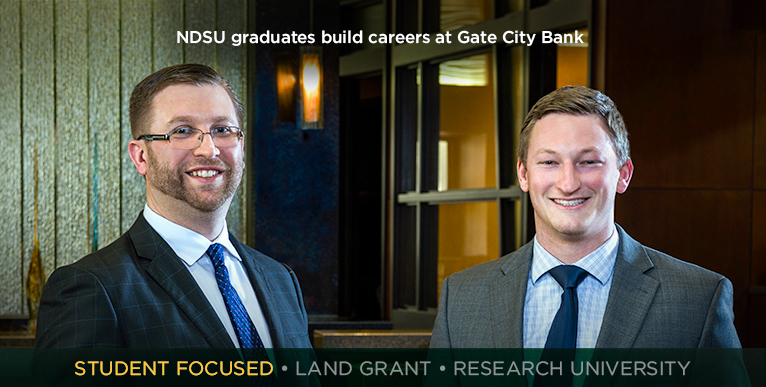 NDSU graduates build careers at Gate City Bank
