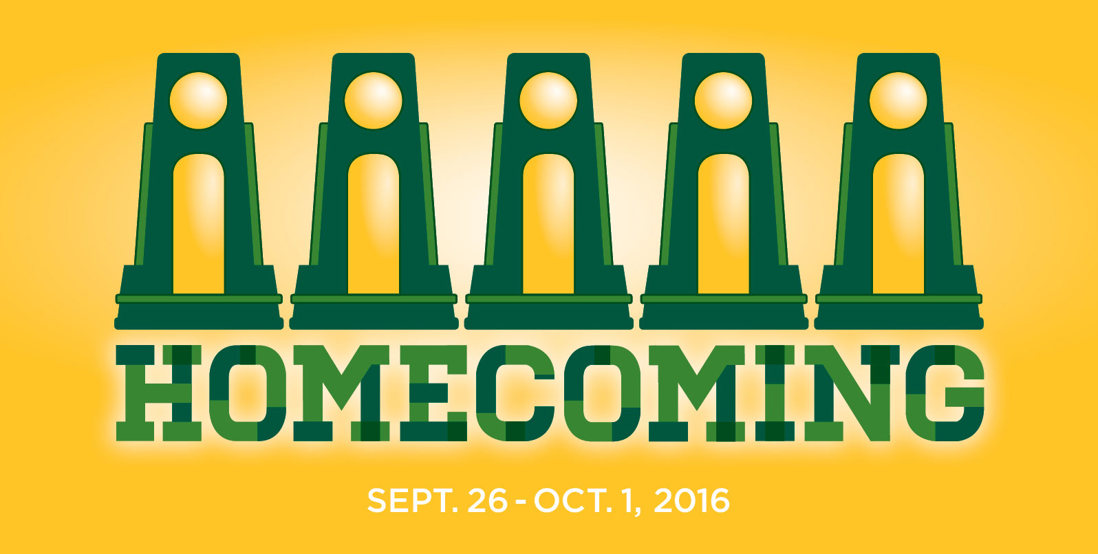 Homecoming 2016 - Sept. 26-Oct. 1 - click for more information
