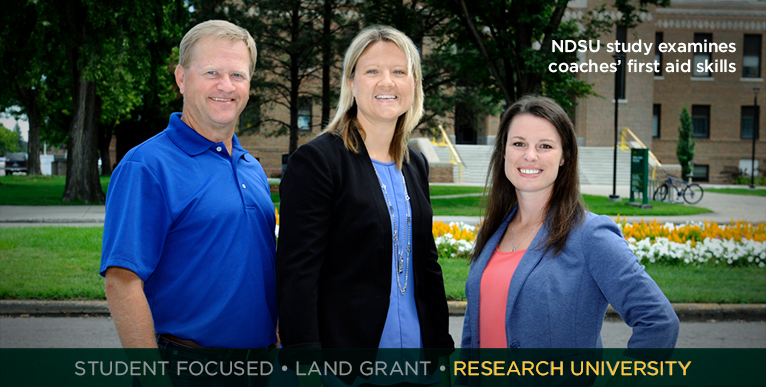 NDSU study examines coaches� first aid skills